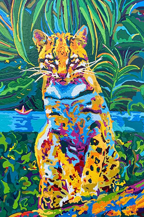 Il giaguaro nella giungla
