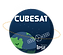 Irvine CubeSat Logo Revised Cube White C