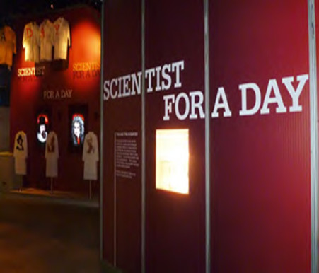 Scientist for a Day @ Science Centre Singapore