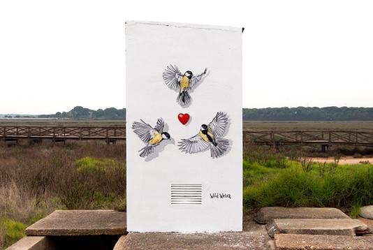 Avian Heart Aljaraque, Spain. 2020