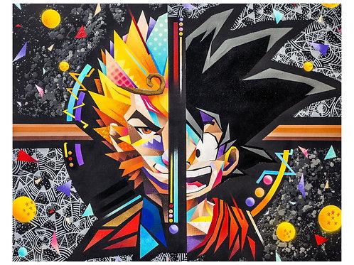 Goku's real grandfather print