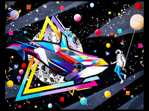 Space Oddity print