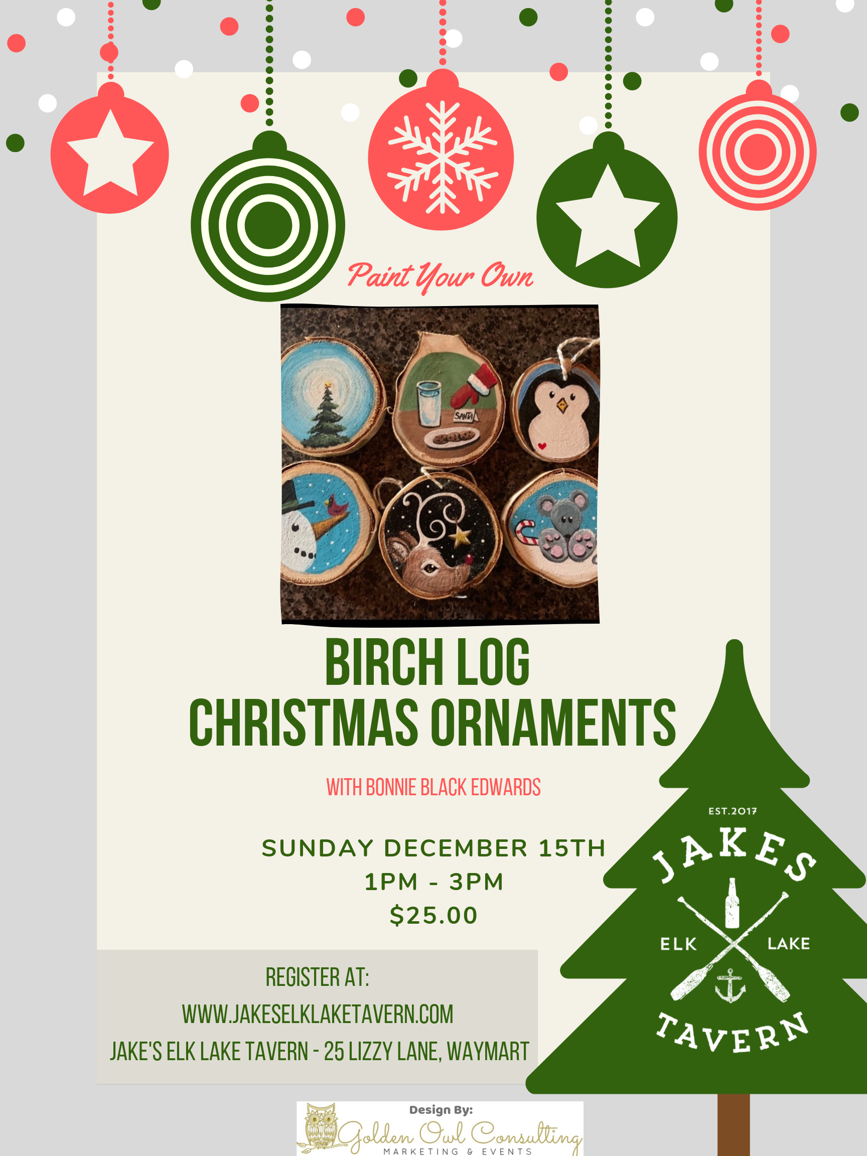 Ornament Paint and Sip