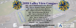 2019 Valley View Cougars