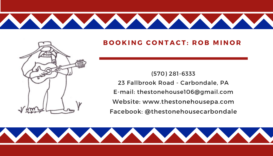 stonehouse business card