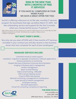 tech42 marketing flyers
