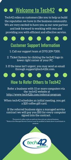 Tech42 Rack Card