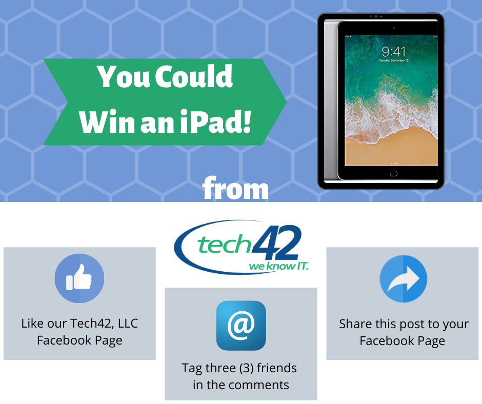 Win an iPad!