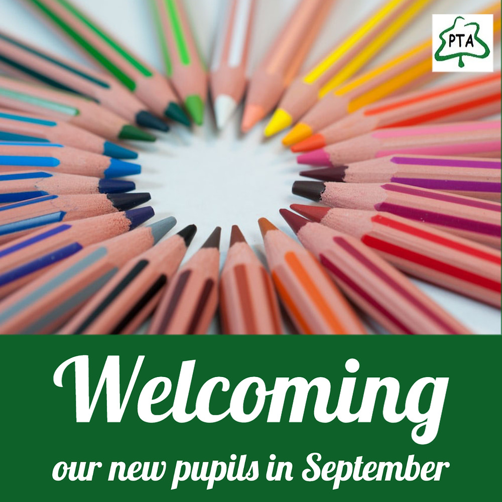 Welcome new pupils