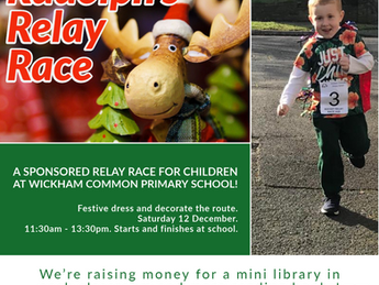 Rudolph's Relay Race -Saturday 12 December