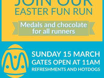Easter Fun Run - Sign up to chase the Hare