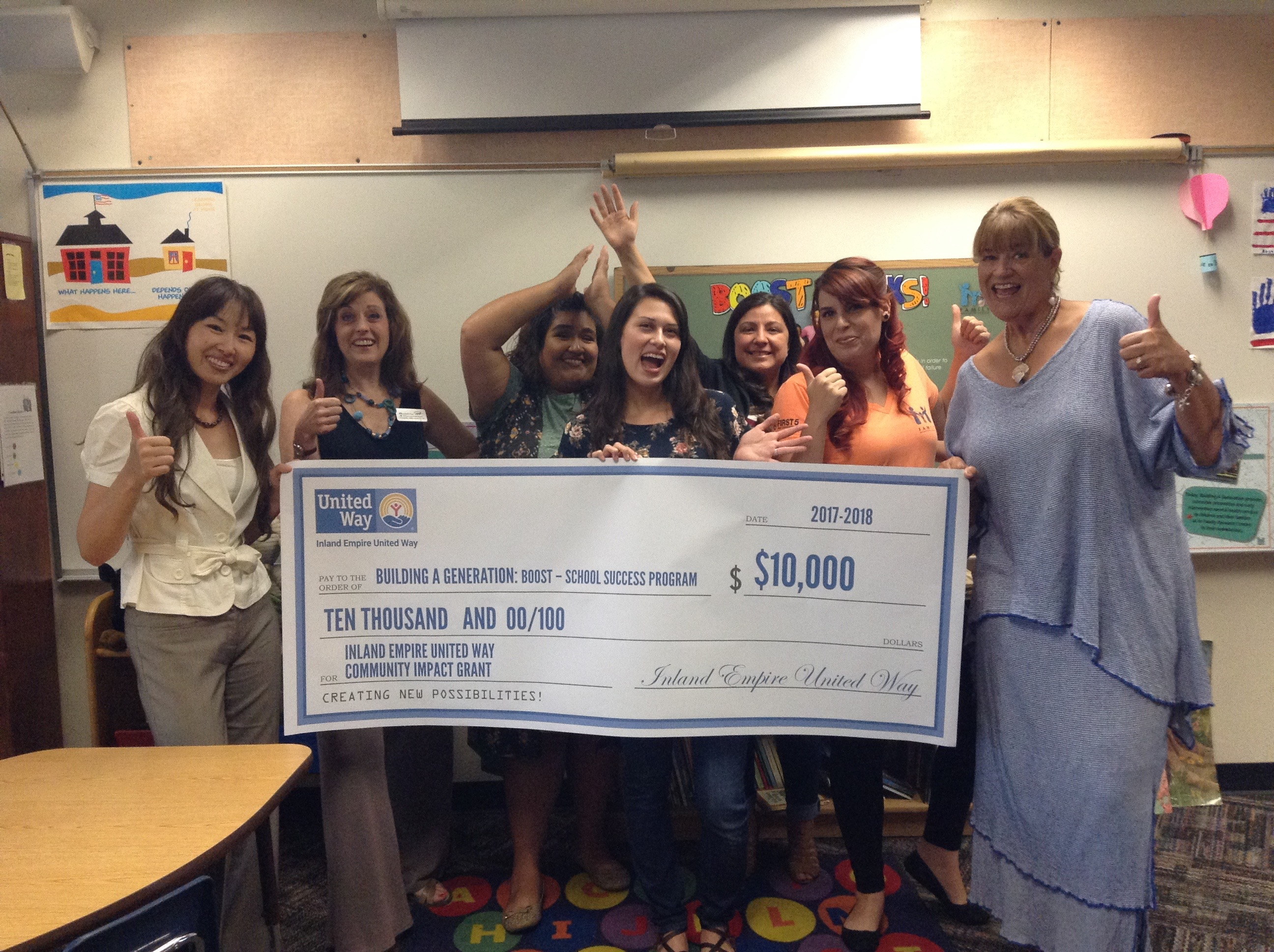 $10,000 IEUW Grant Celebration