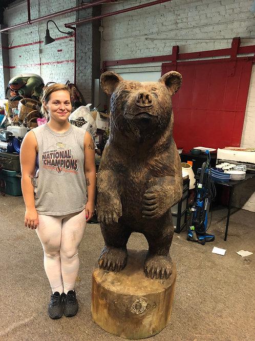 Wood Carved Bear
