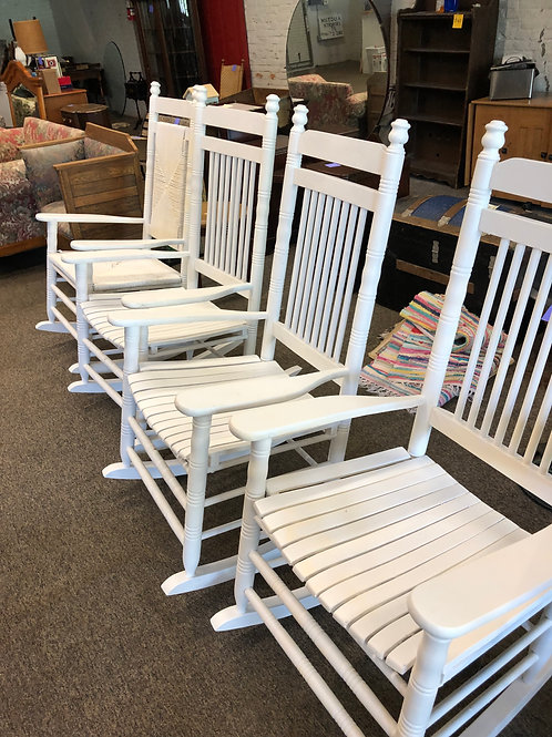 Porch Rockers only 2 left  PRICE IS PER