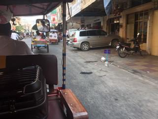 初海外、初カンボジア