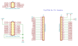TinyFPGA Bx Pinout, Schematic and Datasheets