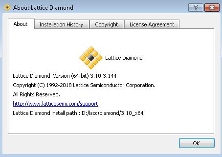 Lattice Diamond 3.10 SP3 File Extensions