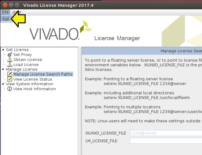 Installing 2017 4 Vivado and SDK on Linux