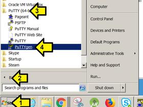 Generate a 4096 RSA Key Pair w/ a Comment & Send Public Key