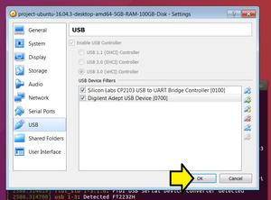 Connecting Vivado to Digilent's USB-to-JTAG through VirtualBox