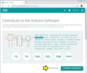 arduino ide linux install terminal