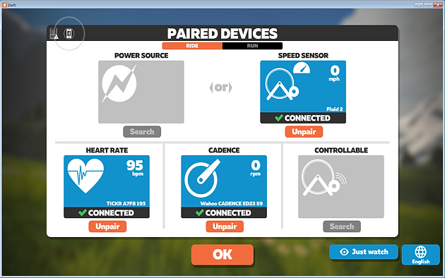Sequence of Steps that Work when Running Zwift with a Wahoo