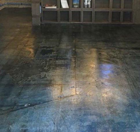 床のクリア 特殊塗装