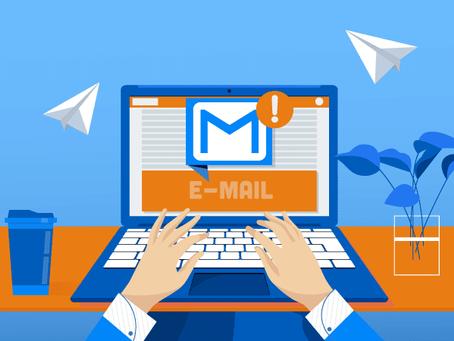 Comunicação via e-mail