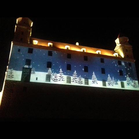 Bratislavský hrad - animácia