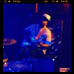 Instagram - Bleu mood #afropunk#rockband
