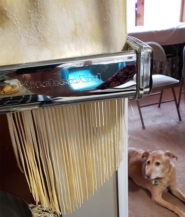 Fresh Pasta Machine, Recipe
