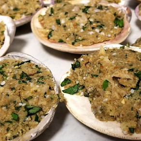 The Best Baked Stuffed Clams Recipe