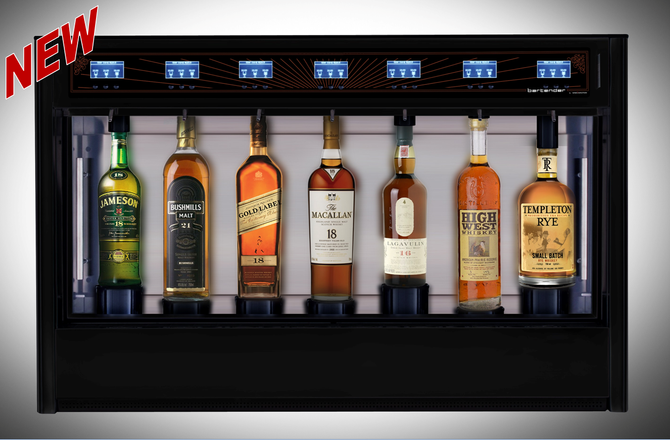 Bartender Whiskey Dispenser by Wineemotion