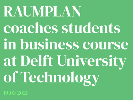 Raumplan coaches students at Delft University of Technology
