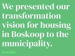 Raumplan presents housing vision to municipality