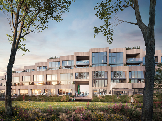 Raumplan guides real estate development of 'Peak' Noorderplassen