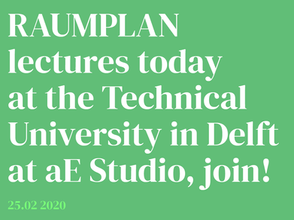 Raumplan to lecture at aE Studio.