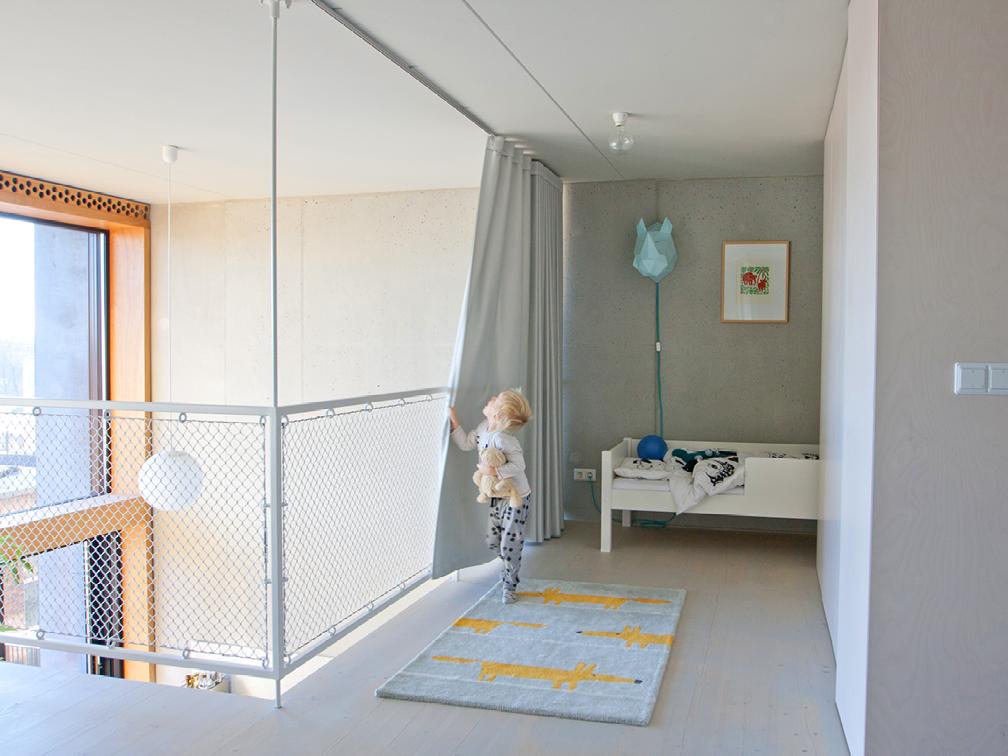 Slaapkamer Loft Houthaven