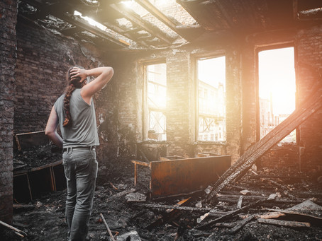 Steps to take after Suffering Fire Damage