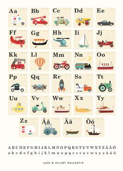 Vehicles ABC. Swed.