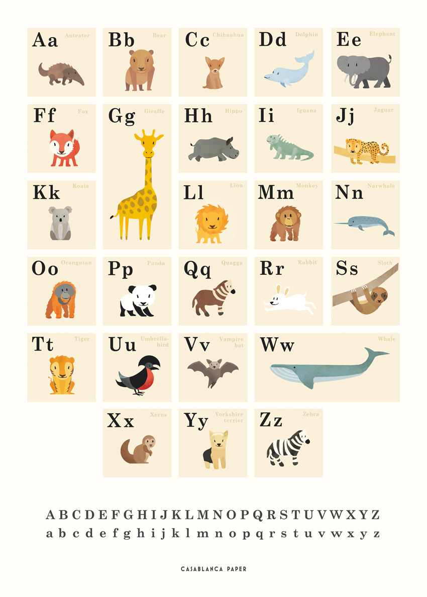 Animals ABC. Eng.