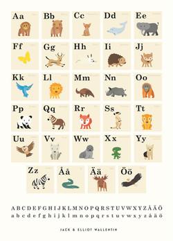 Animal ABC. Swed.