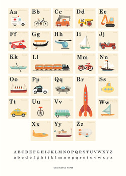 ABC-poster-eng. Vehicles.