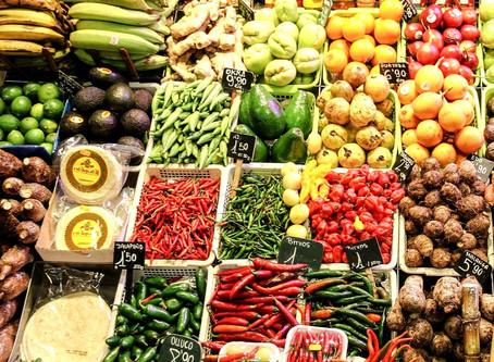 Storing fruits and veggies