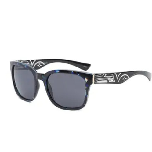 Jessie Raven Black Sunglasses