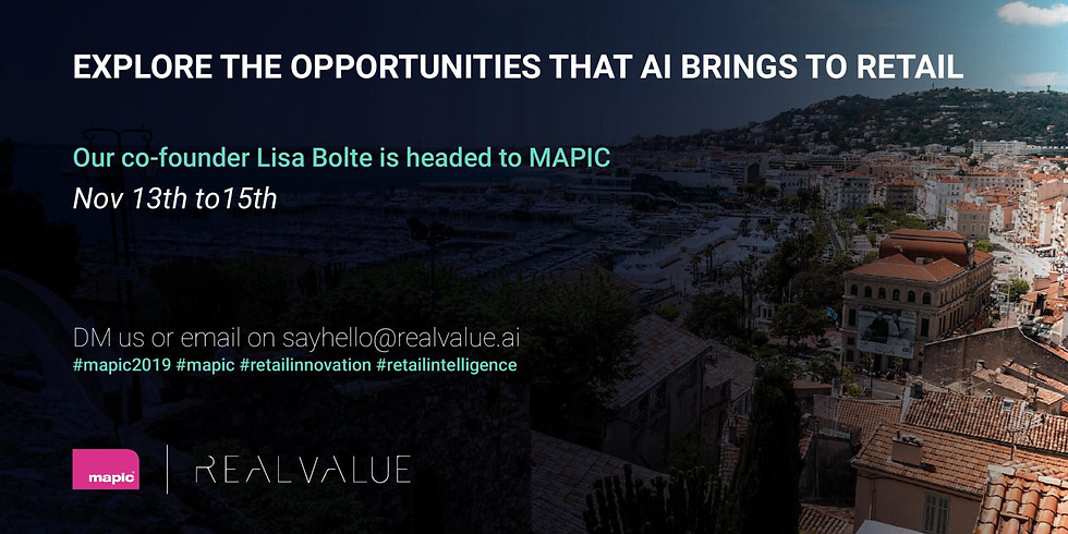 AI Creating Opportunities for Retail (MAPIC)