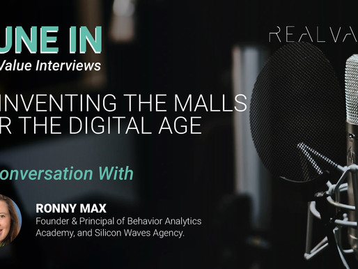 The Transformation of Malls: In conversation with Ronny Max, Founder - Behavior Analytics Academy