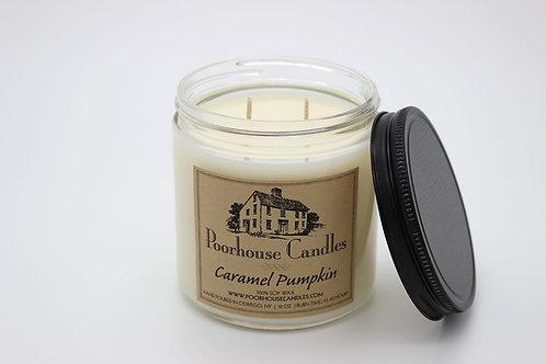 Caramel Pumpkin -12oz Two Wick Candle