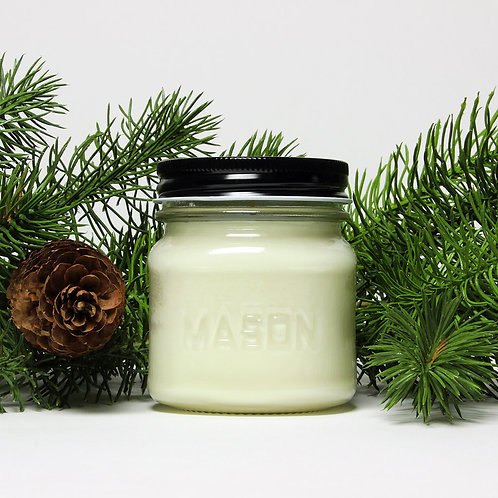 Blue Spruce -8 oz Mason Jar