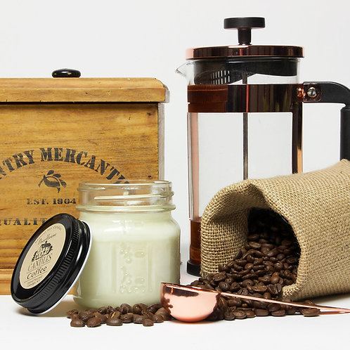 Coffee -8 oz Mason Jar
